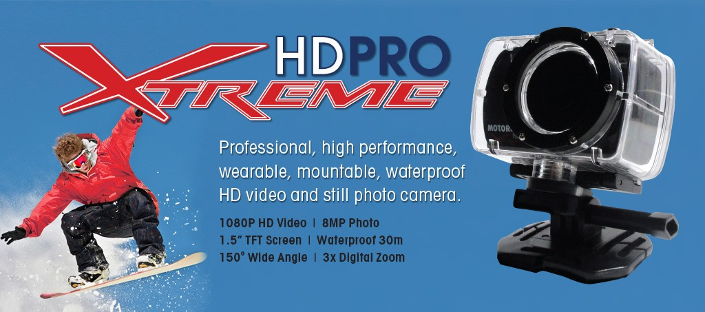 HD Pro Xtreme – the only HD camera you ever need