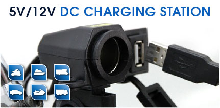 Uniersal charging dc station